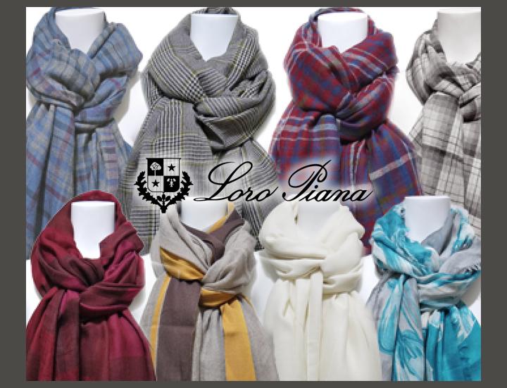 Loro Piana(ロロピアーナ)のマフラー&ストール。本物の肌触りと暖かさに包まれる贅沢なぬくもりをぜひご実感下さい。