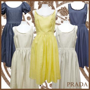 30代・40代の女性に贈る、大人カワイイ、インポートブランド服。PRADA プラダ ワンピース