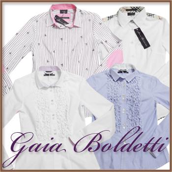 30代・40代の女性に贈る、大人カワイイ、インポート服。Gaia Boldettiは、イタリア北部トリノで1973年に設立されるとすぐにファッショニスタとして業界で注目を集めるようになったイタリアの女性用シャツ専門のブランドです。