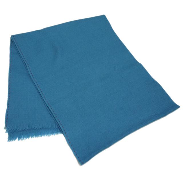 ロロピアーナ  カシミア100%マフラー 青緑 Loro Piana