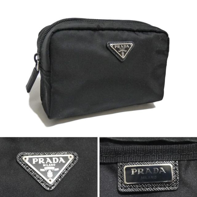 プラダ ナイロン 化粧ポーチ 1NA021 黒 PRADA