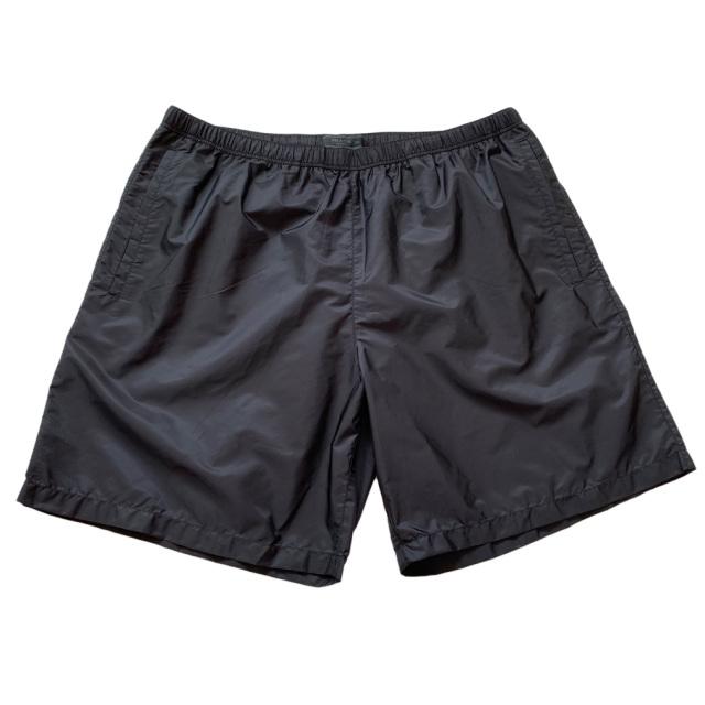 プラダ メンズ ナイロン水着(スイムウェア) 黒 #50  PRADA
