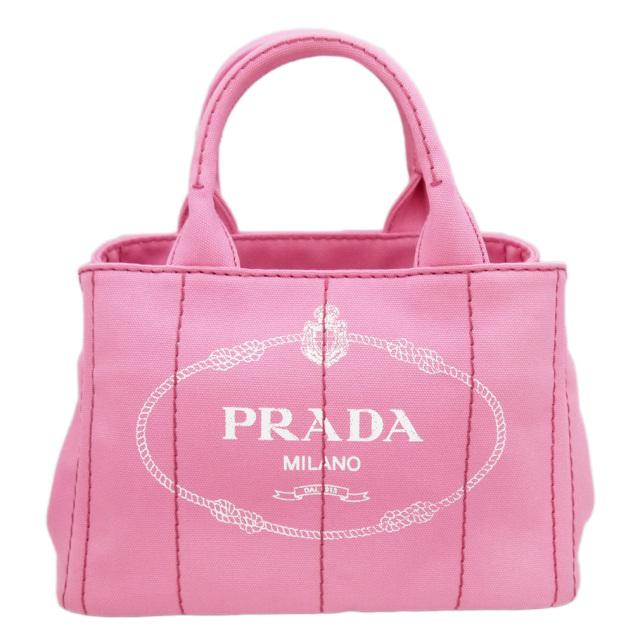 プラダ カナパ トートバッグ ミニサイズ1BG439 ピンク PRADA