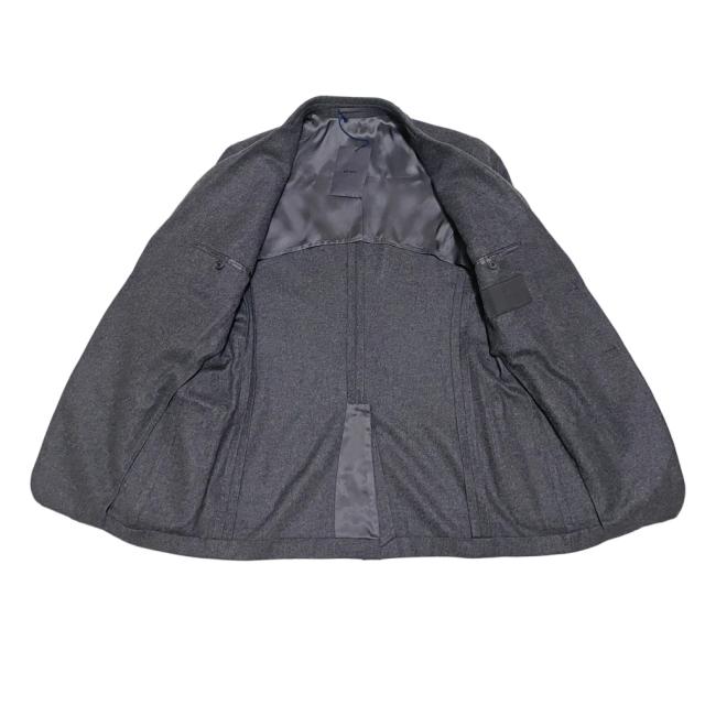 新品プラダPRADAメンズカシミアジャケット チャコールグレー#50R