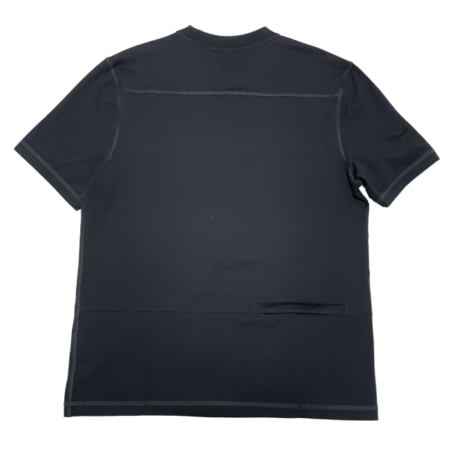 プラダ メンズ クルーネックTシャツ 黒 #XL  PRADA