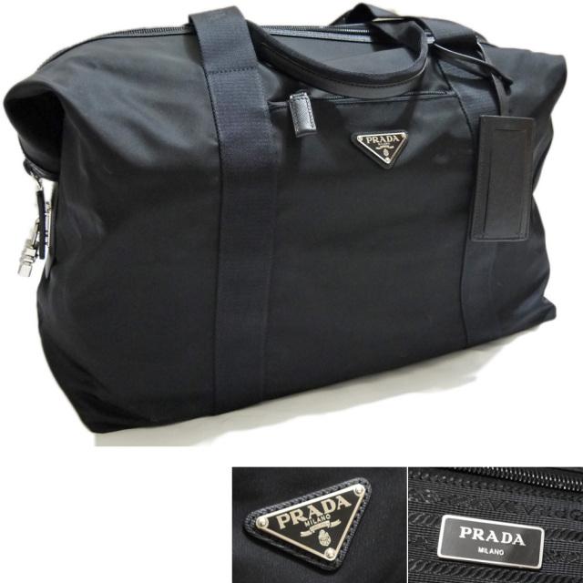 プラダ ナイロンボストンバッグ 黒 2VC796 PRADA