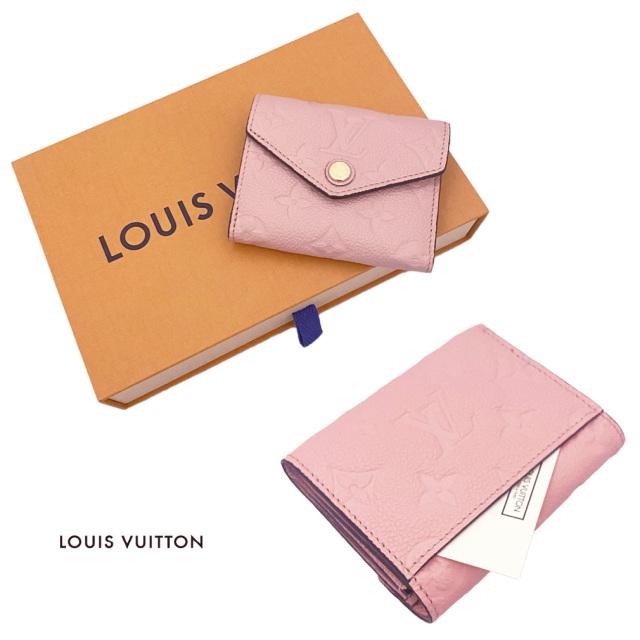 ルイヴィトン コンパクト折り財布 ポルトフォイユ・ゾエ  M62936 ピンク LOUIS VUITTON