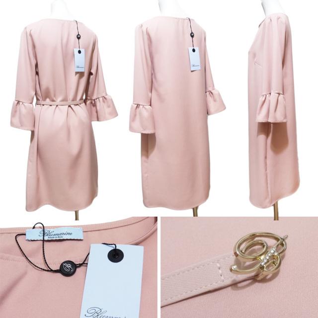 ブルマリン 七分袖ワンピース ピンク #40 Blumarine